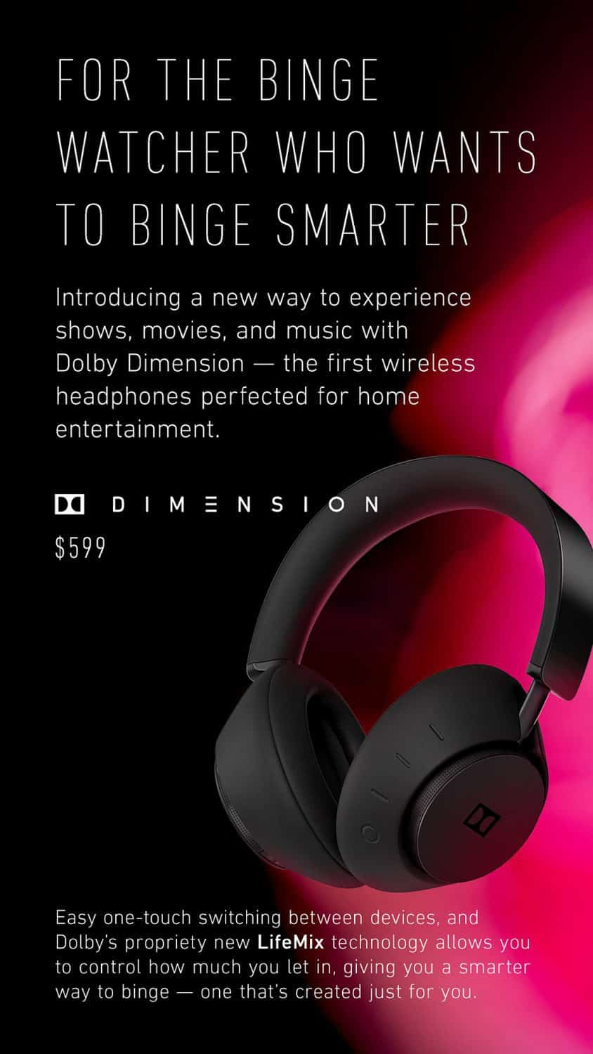 Dolby entertainment