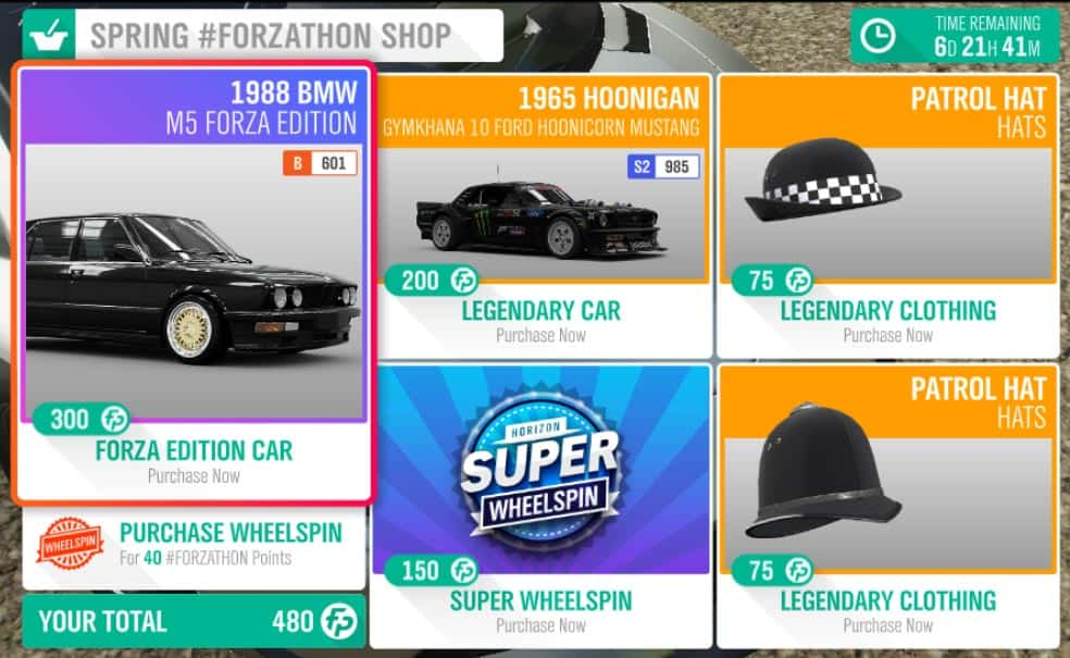 Forza-Horizon-4-November-15-spring-forzathon-shop