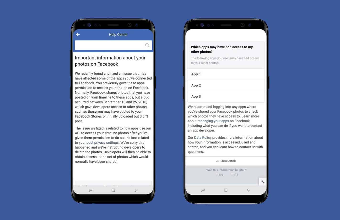 Facebook API bug