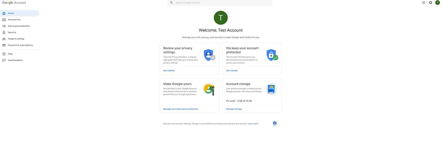 Google two-factor authentication