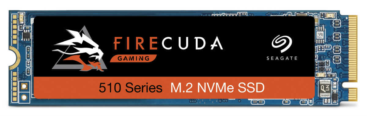 The FireCuda 510 Series M.2 NVMe SSD.