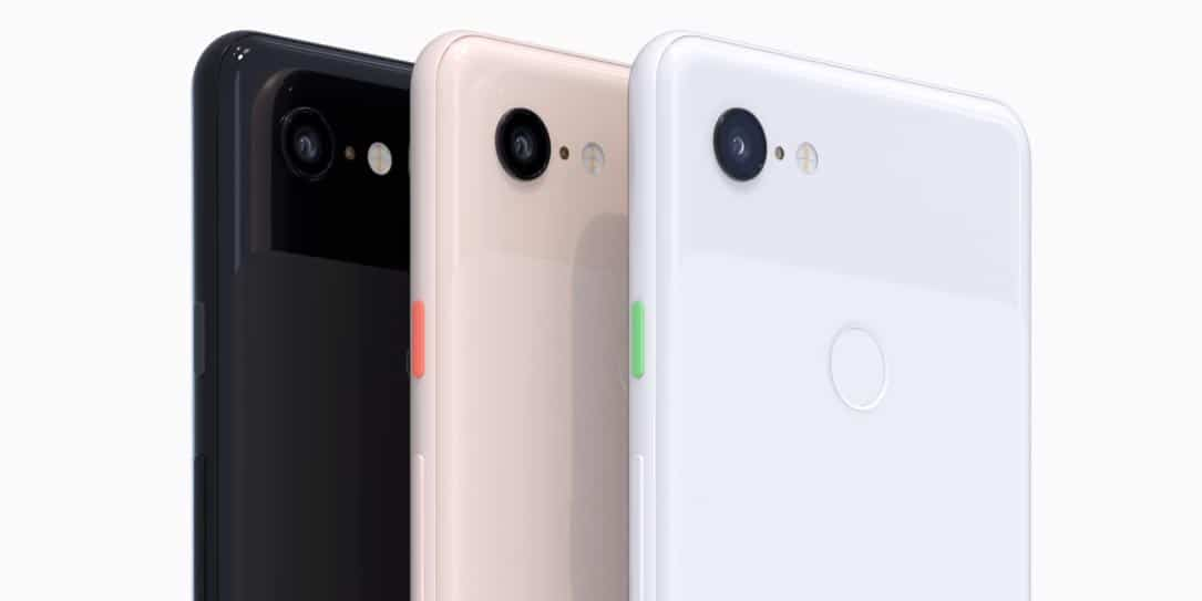 Google-Pixel-Watch-Pixel-3 made by Google carbon-neutral brand 2020