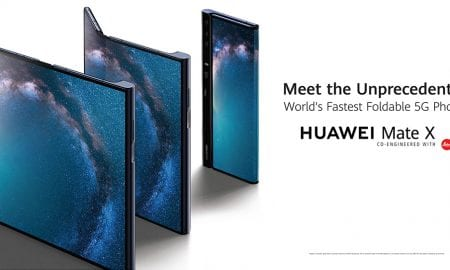 Huawei Mate X foldable phones