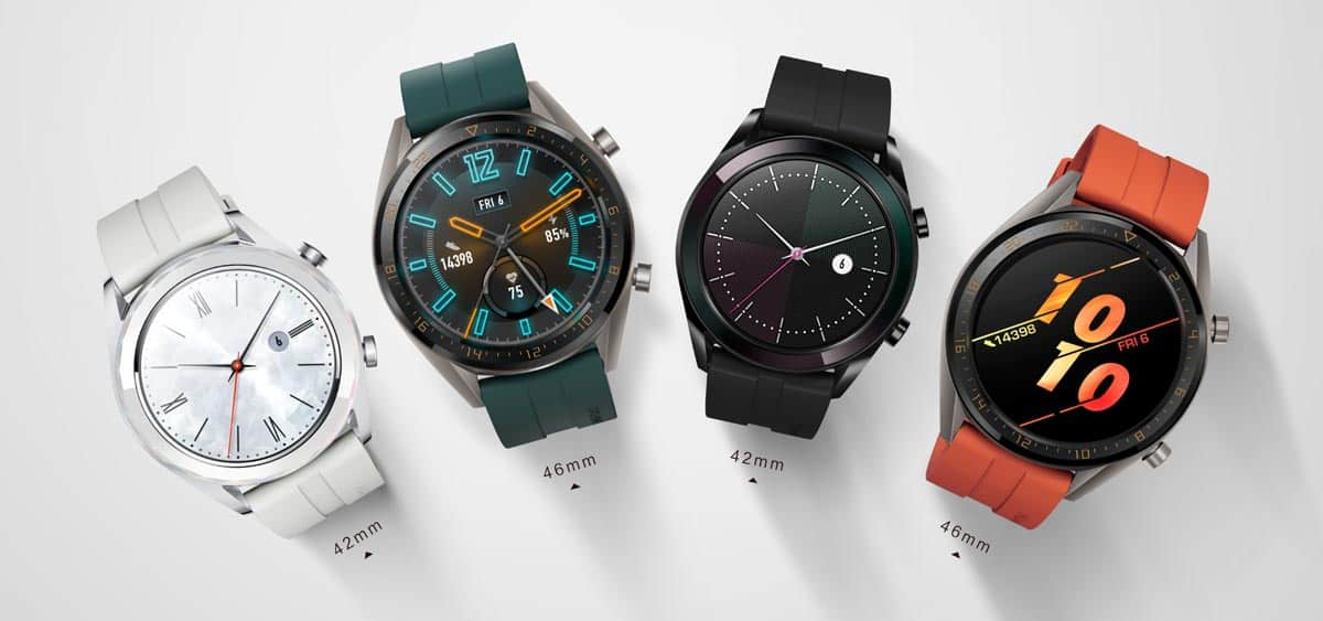 Huawei WATCH GT Active Edition & Elegant Edition smartwatches