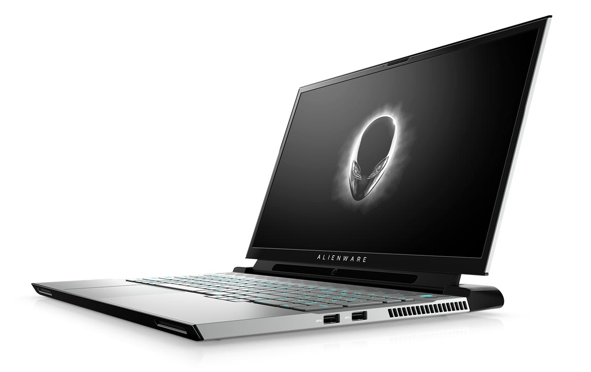 The Alienware m17 gaming laptop.