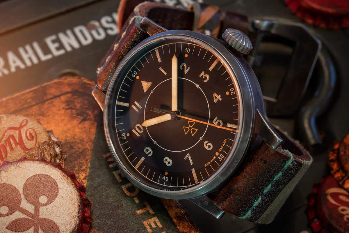 Fallout inspired limited edition Laco RAD-AUX watch