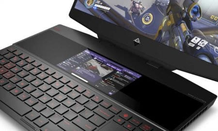 OMEN X 2S dual-screen gaming laptop