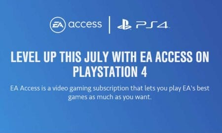 EA Access PlayStation 4 logo