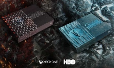 Custom Game of Thrones-themed Xbox One S consoles