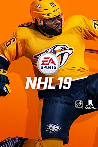 NHL 19 game cover