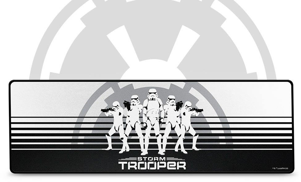 The Razer Goliathus Extended Stormtrooper Edition