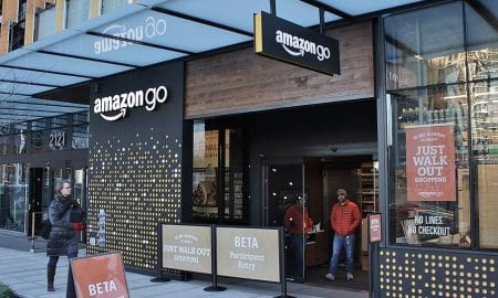 Amazon Go self-serve checkout cashier-less