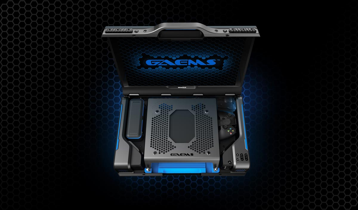 Top view of the GAEMS Guardian Pro XP