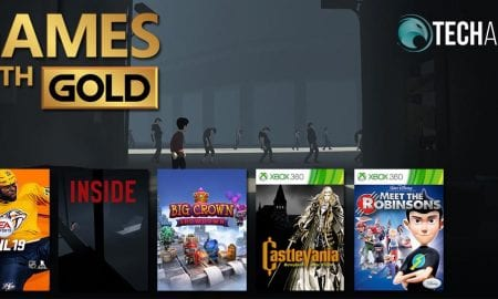 July 2019 Xbox Games with Gold