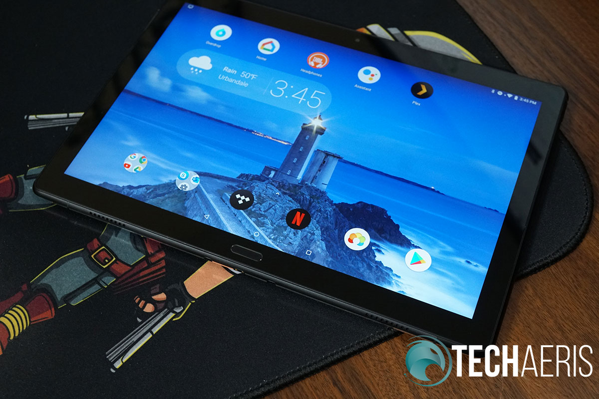 Lenovo Smart Tab P10 smart screen