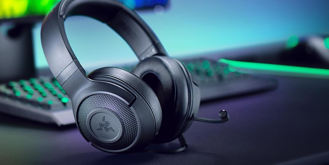 Razer Kraken X ultra lightweight gaming headset