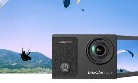 Dragon Touch Vision 3 Pro action camera