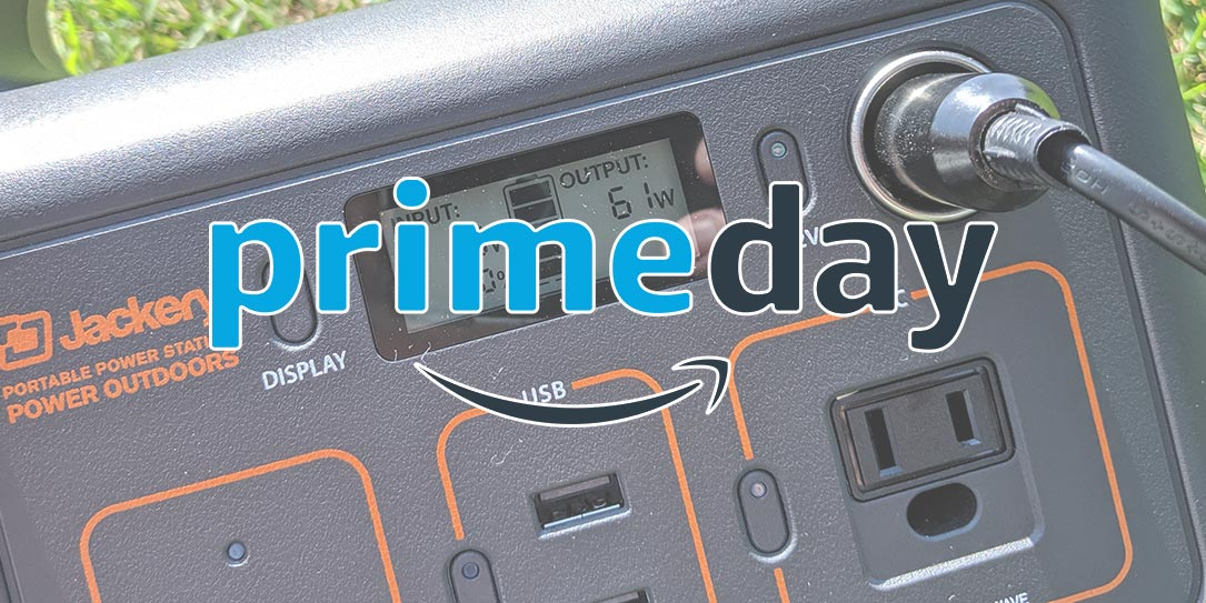 Jackery Prime Day deals