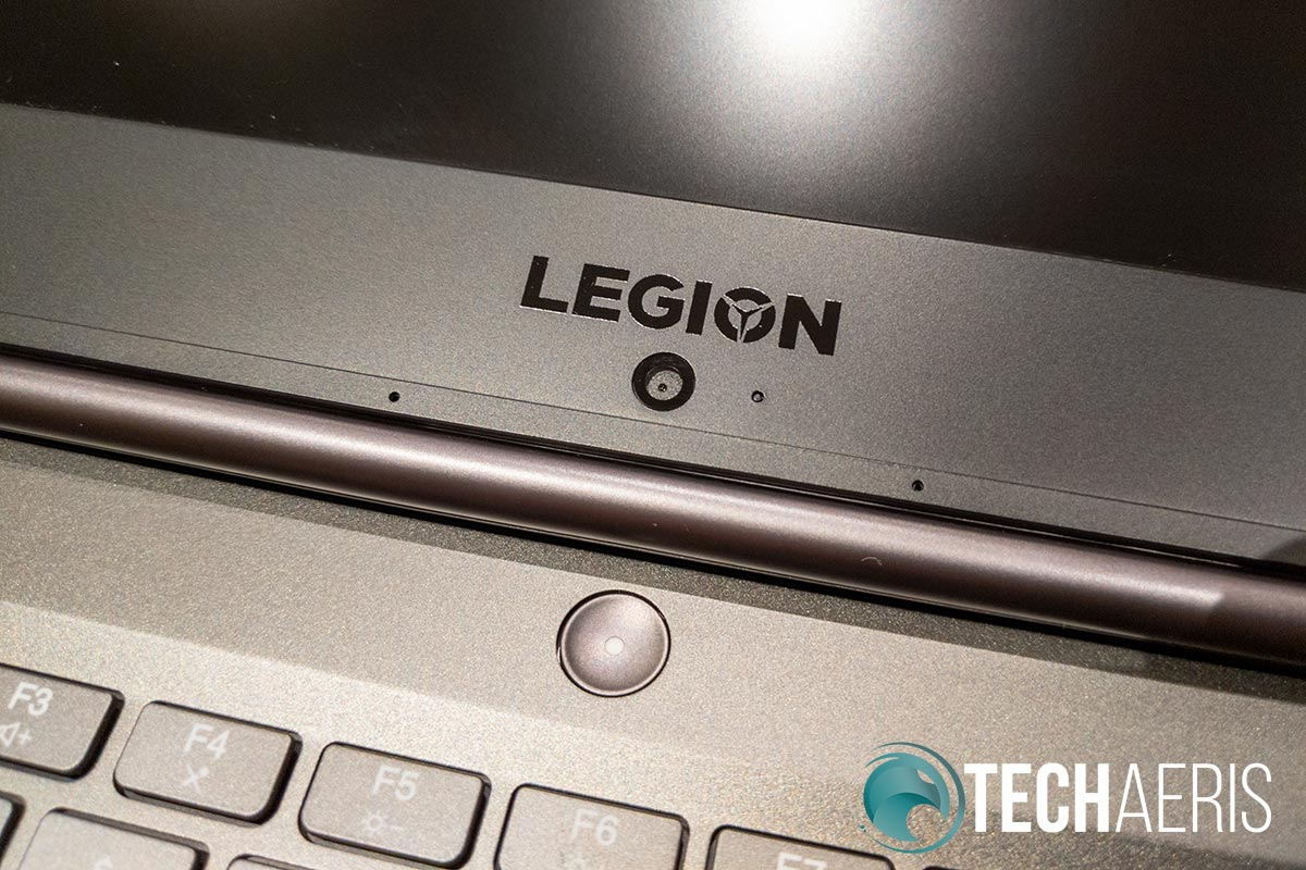 "The camera placement on the Lenovo Legion Y740 15"" is unfortunate"