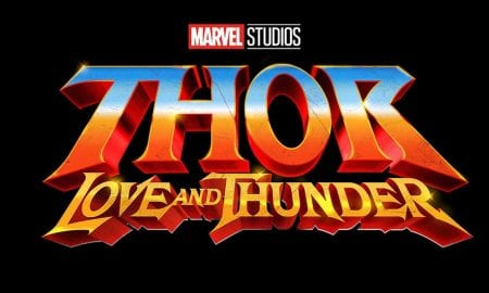 Marvel SDCC Thor: Love and Thunder title art