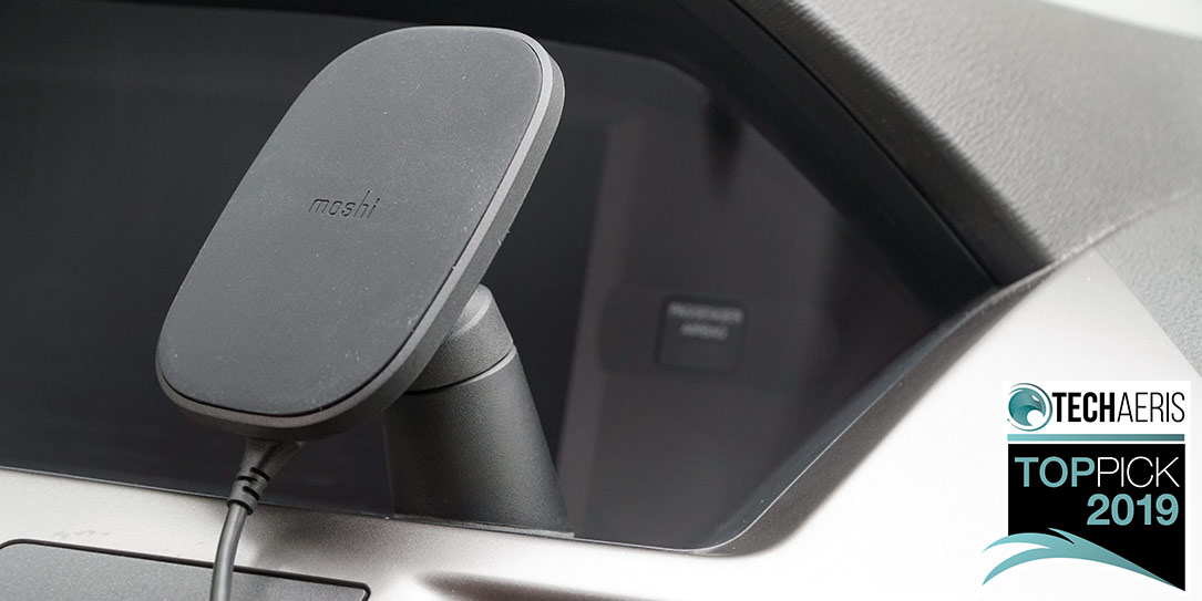 Moshi SnapTo wireless car charger