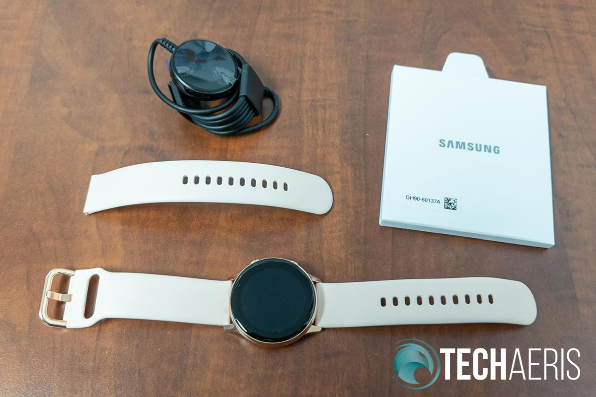 What's included with the Samsung Galaxy Watch Active