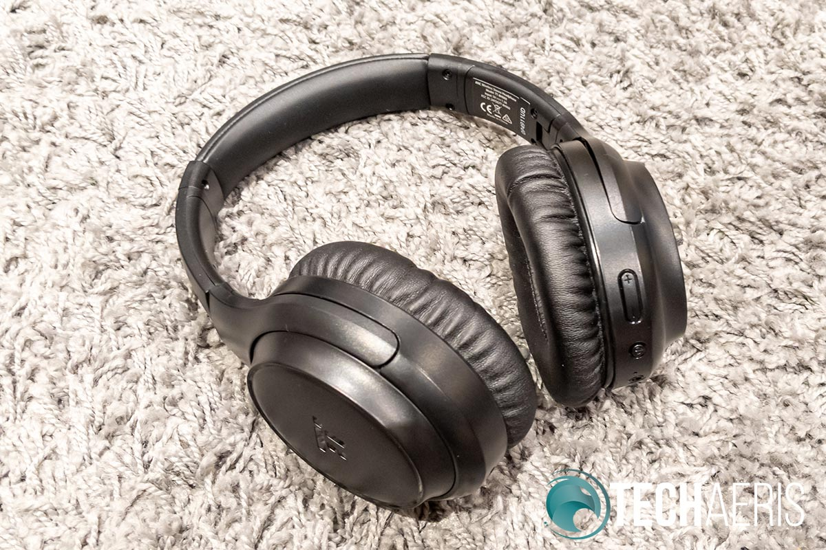 The TaoTronics SoundSurge 60 Active Noise Cancelling Wireless Stereo Headphones