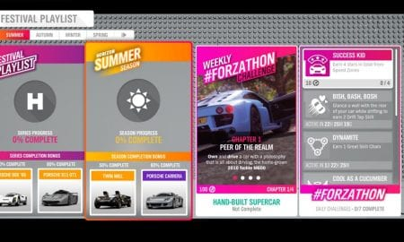 Forza Horizon 4 #Forzathon August 29-September 5th