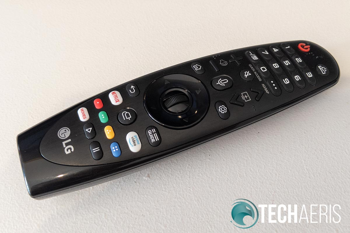 The LG Magic Remote