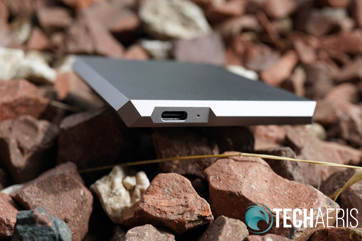LaCie Mobile SSD hard drive storage