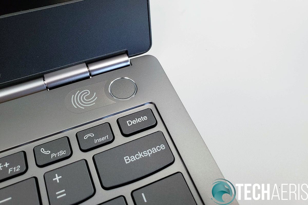 Lenovo-ThinkBook-13s-Fingerprint-Scanner-Power-Button