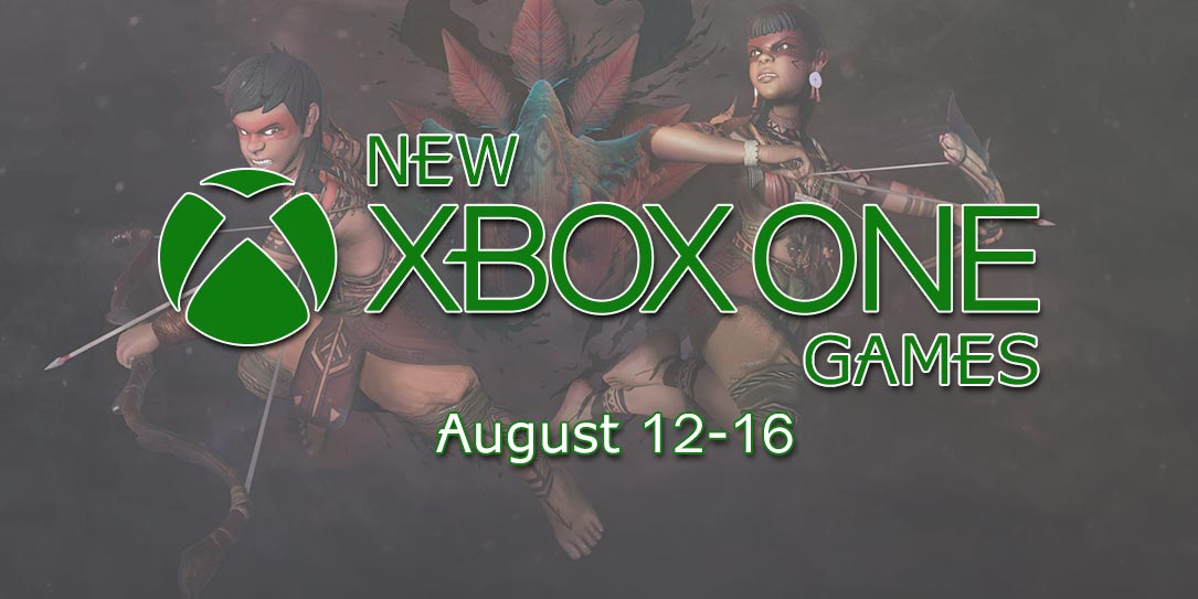 New Xbox Games August 12-16