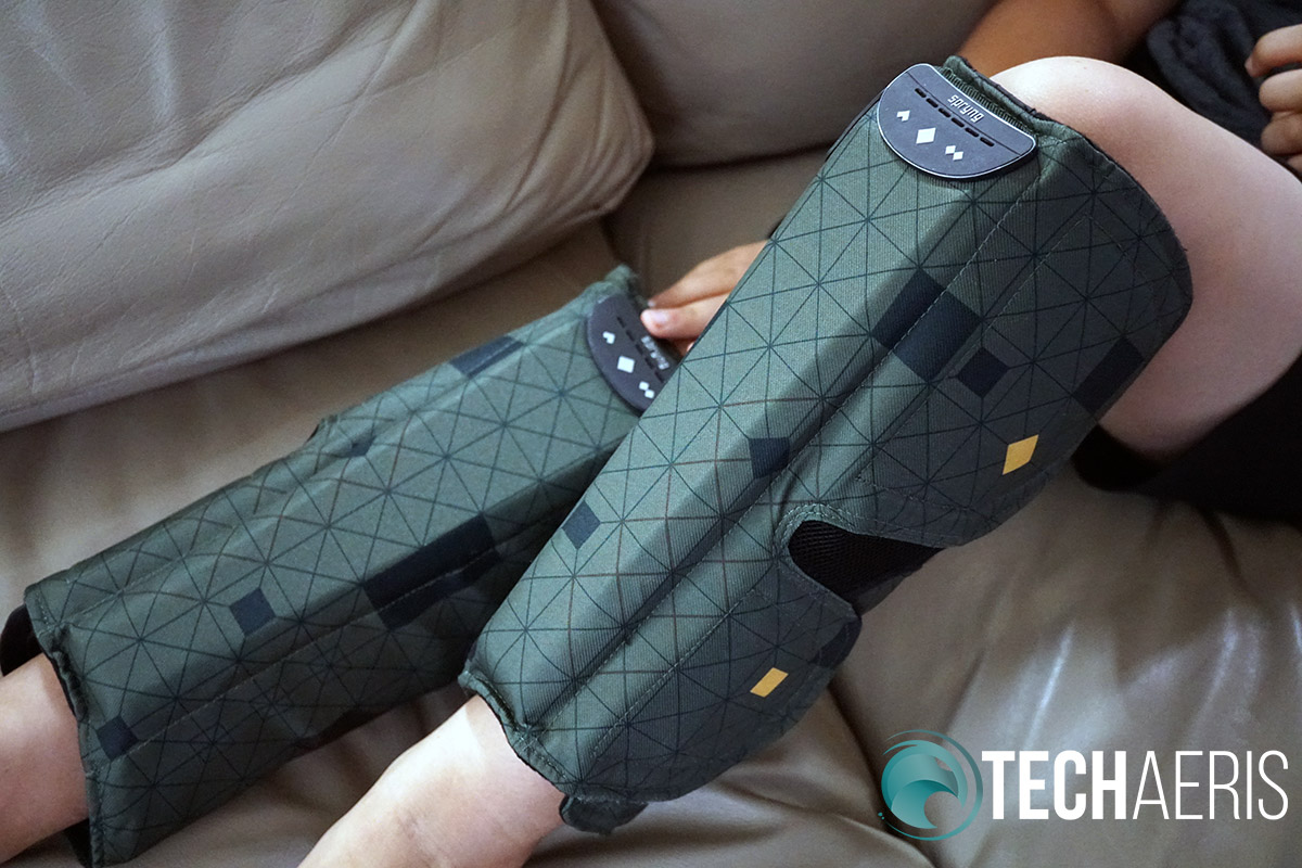SPRYNG review compression therapy