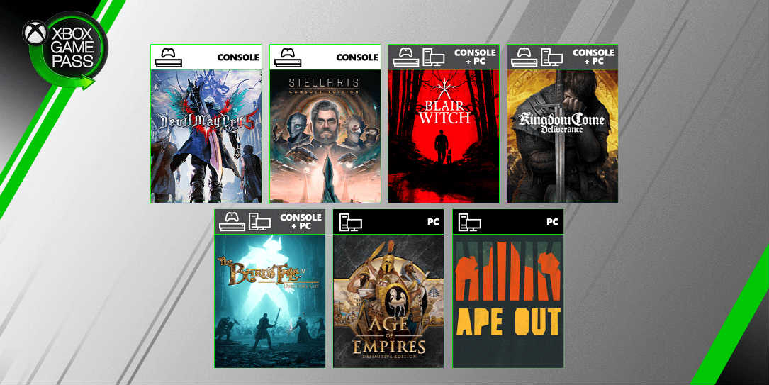 Xbox Game Pass August Update #2