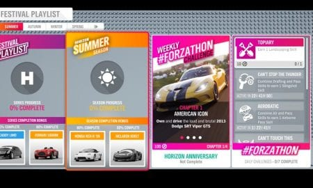 Forza Horizon 4 #Forzathon September 26-October 3rd Horizon Anniversary