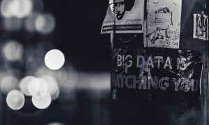 Privacy Paranoia Big Data Is Watching You signpost