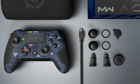 SCUF Vantage 2 Call of Duty Modern Warfare themed PlayStation controller