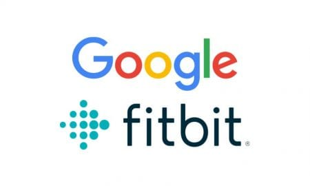 Google and Fitbit logos