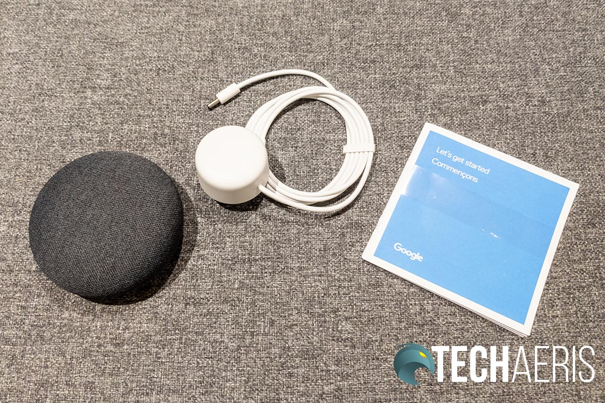 What's included with the Google Nest Mini