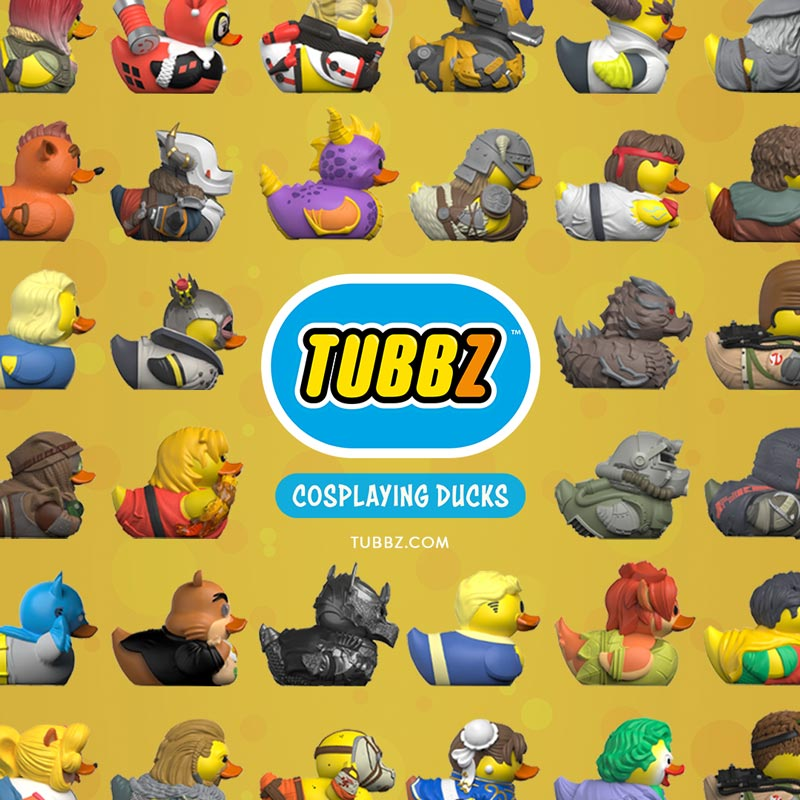 Numskull TUBBZ cosplaying ducks