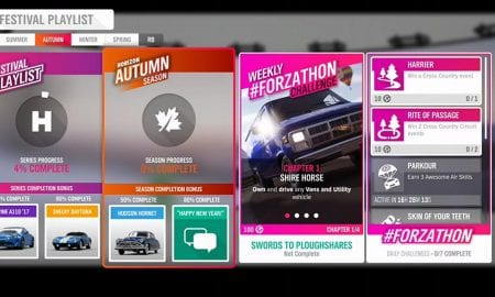 Forza Horizon 4 #Forzathon December 26-January 2