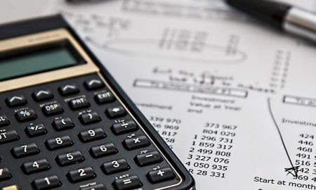 IT budget calculator balance sheet