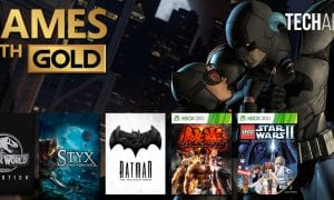 January 2020 Xbox Games with Gold