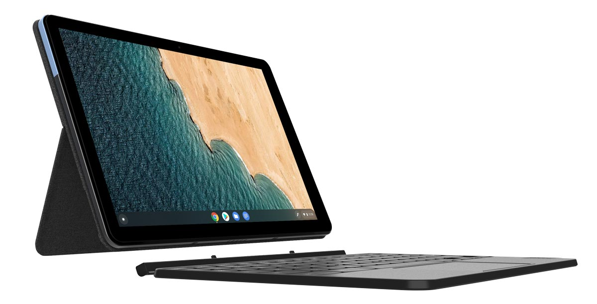 The Lenovo IdeaPad Duet Chromebook