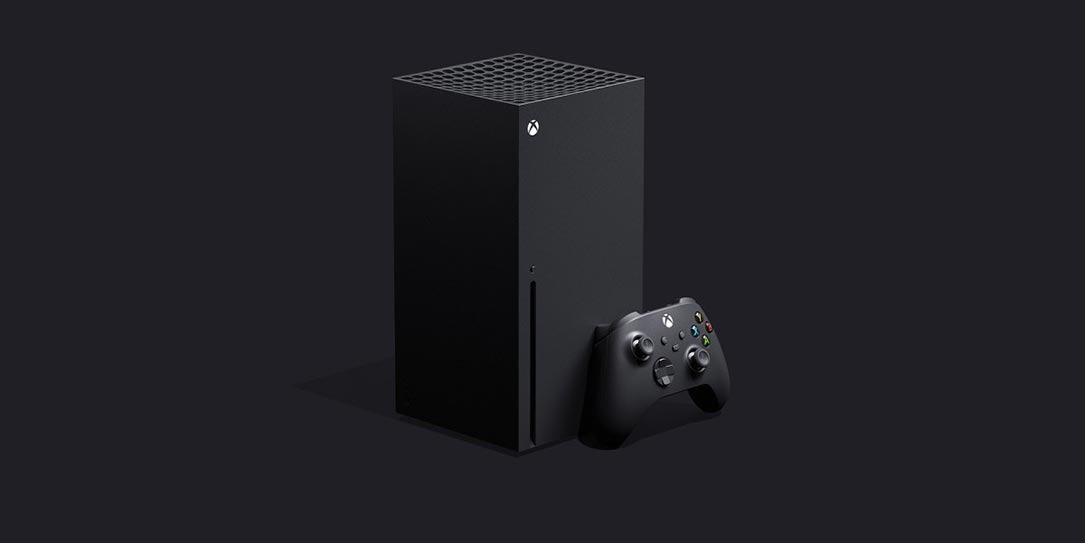 Xbox Series X game console with Xbox Wireless Controller