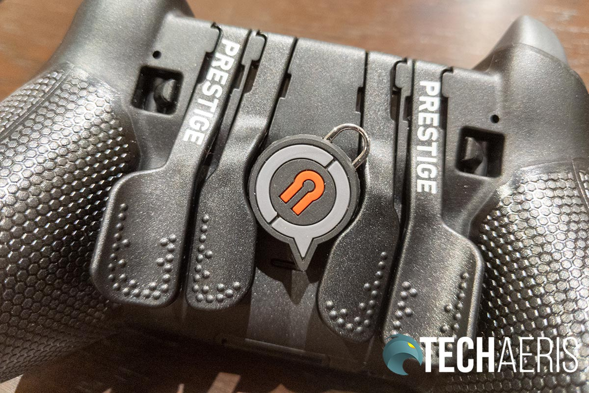 The EMR Mag Key on the SCUF Prestige Xbox One/PC game controller