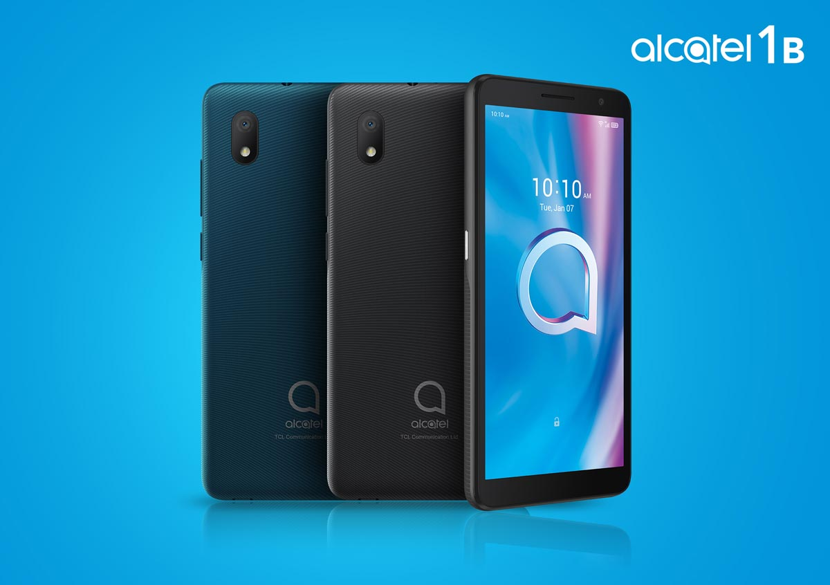 The Alcatel 1B Android smartphone