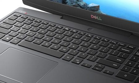 Dell G5 15 SE gaming laptop keyboard