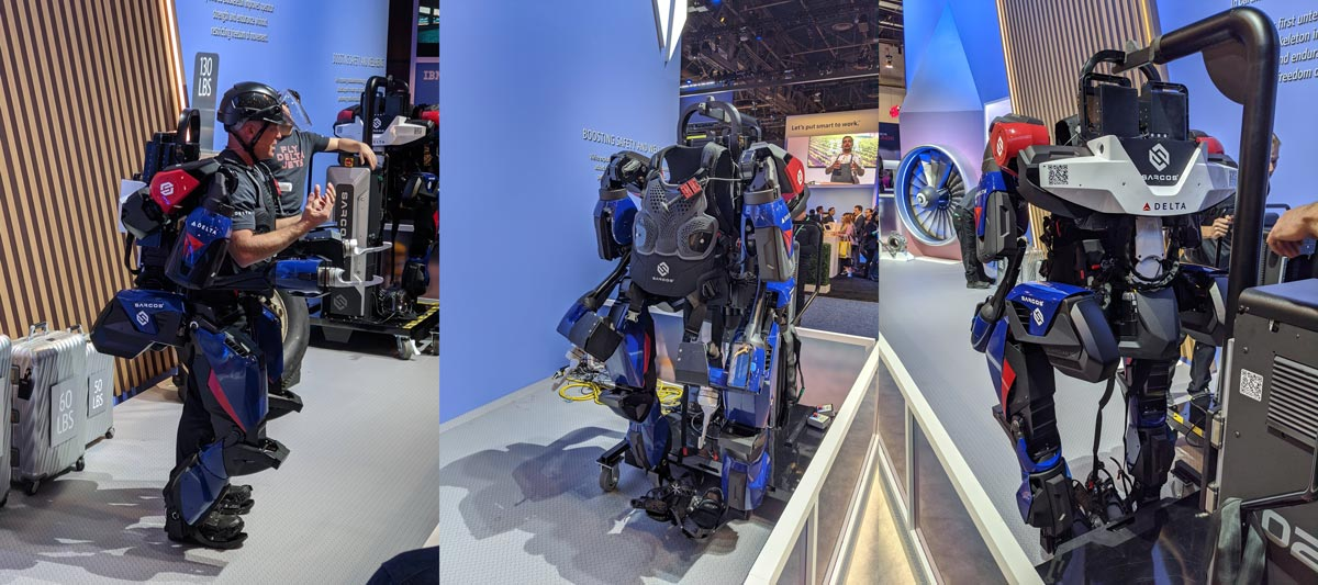 The Delta Guardian XO exoskeleton