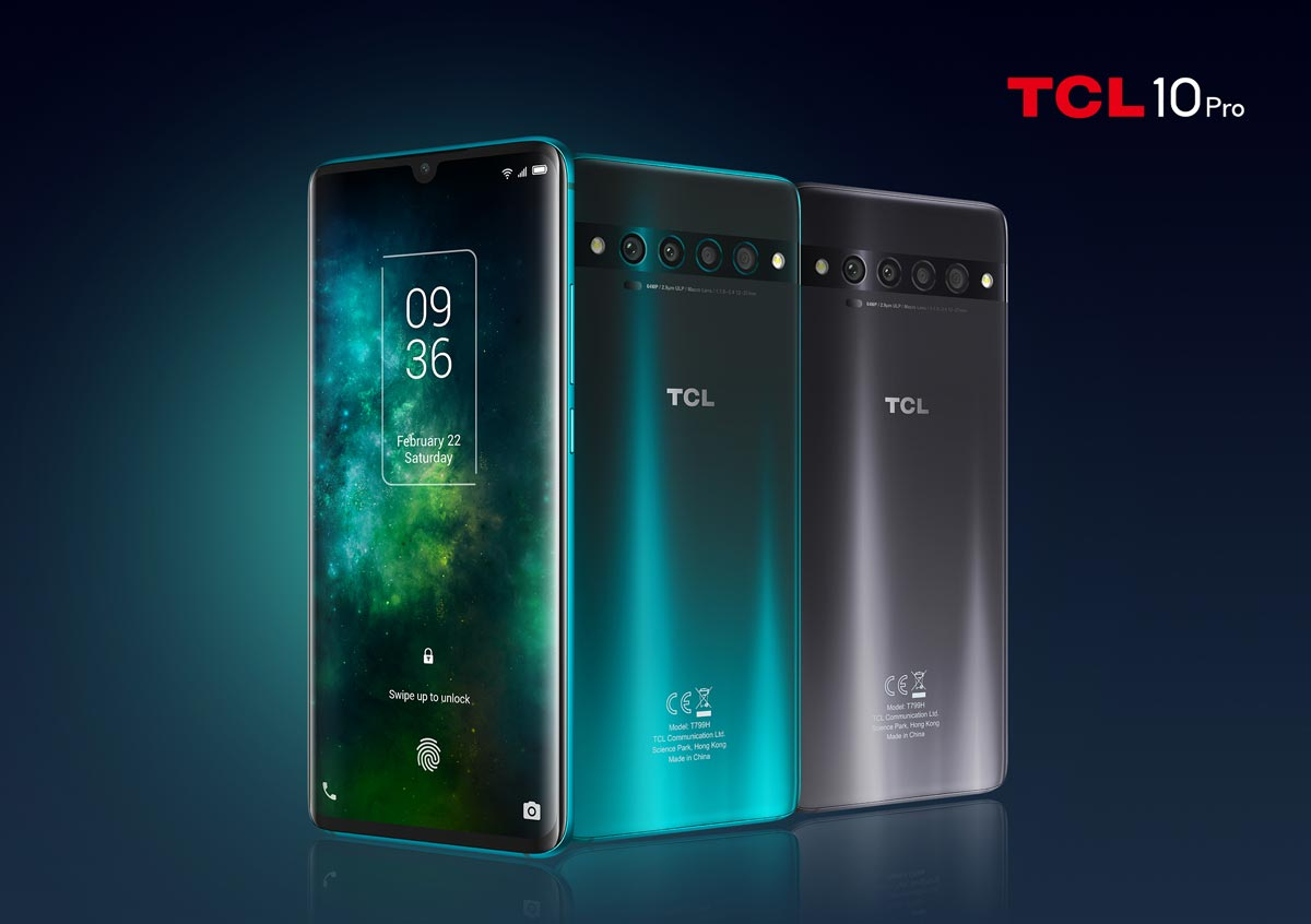 The TCL 10 Pro smartphone
